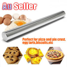 Checkered ROLLING PIN French Style Stainless Steel Safe - Chef Dishwasher