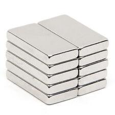 10x N52 Grade Strong Block Magnet Neodymium Rare Earth Rectangular 20 x 10 x 3mm