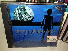 RITMO PROGRESSIVE MIXED DJ PANDA RARE CD 1996 MATTEO EPIS MADE ITALY