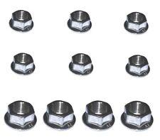 Metric Fine Flange Nuts (4 x M12 + 6 x M10) -  Suzuki A100