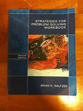 Strategies for Problem Solving Workbook 2nd Second Edition Brian K. Saltzer