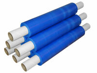 Ext Roll Blue Pallet Stretch Shrink Wrap 400mm Power Stretch  (10)