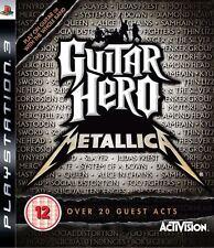 Guitar Hero: Metallica ~ PS3 (in Great Condition)
