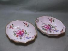 2 Royal Crown Derby Derby Posies Oval Trinket Dishes