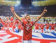 FC BAYERN MÜNCHEN - A2 Poster (XL - 42 x 55 cm) - Thomas Müller Fußball NEU