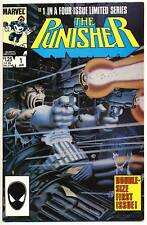 PUNISHER #1 VF, 1st Title! Mike Zeck Mini Series, Marvel Comics 1986