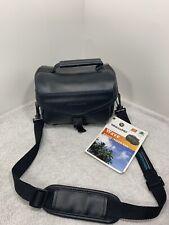 Vanguard Leather Camera Bag Case Digital  Photo Bag Black Shoulder NEW!!!
