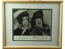 Laurel & Hardy Framed Signed Photo Lot 140