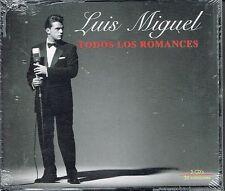 Luis Miguel Todos Los Romances   BRAND  NEW SEALED  3 CDS SET