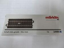 Märklin 24994 Schaltgleis gerade 94,2 mm Neuware