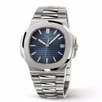 Classic Men's Wrist Watch Swiss Homage Quartz Date Full Steel Sapphire Crystal