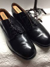 Genesco 1965 Black Leather Military Vietnam Era. Oxford Shoes Sz 10.5 New Other
