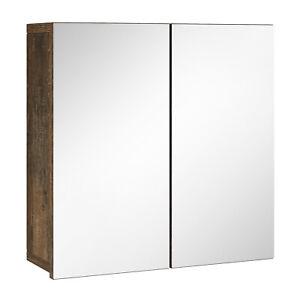 Badezimmer Spiegelschrank Leon 60cm Eiche Frigate – Stauraum Unterschrank Möbel