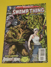 2012 Swamp Thing #12 Paquette New 52 Dc Comics 9.2Nm Rot World Animal Man