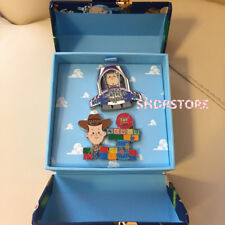 LE800 Disney Pin Toy Story Grand opening Jumbo woody buzz Shanghai Disneyland