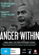 Anger Within - Jonah Lomu - A Rugby Legend (DVD, 2014) RARE