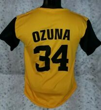 Jacksonville Suns Marcell Ozuna Minor League SGA Baseball Jersey Atlanta Braves