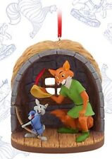 Disney Limited Edition Christmas Robin Hood Sketchbook Ornament Decoration