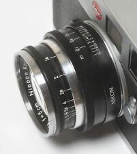 Nikon S 50 1.4 lens rangefinder Leica M