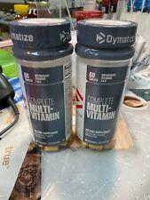 2 X Dymatize  Complete Multi-Vitamins  60 Tablets