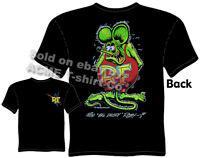 Ed Roth T Shirt Ratfink T Shirts Signature Big Daddy Shirt Clothing Hot Rod Tee