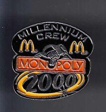 RARE PINS PIN'S .. MC DONALD'S RESTAURANT JEU GAME MONOPOLY 2000 ~12