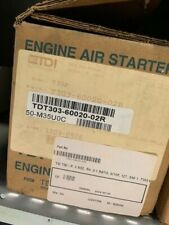 Tdi T303-60020-02R New T30P Starter, 3 Noz, Rh, 9:1 Ratio, 8/10P, 12T, Sae 1