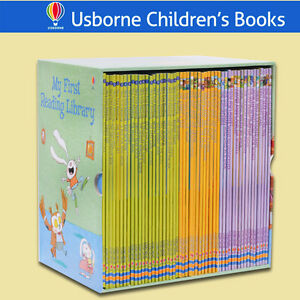 Usborne My First Reading Library, 50 Books, comes with Box!