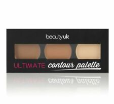 Beauty UK Ultimate Contouring Palette 3 blendable shades cream to powder contour