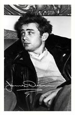 JAMES DEAN  AUTOGRAPHED SIGNED A4 PP POSTER PHOTO