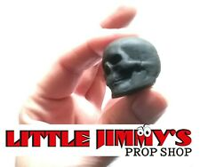 Ancient Blk Pk Skull. Magic Prop. Mentalism Telekinesis. Little Jimmys Prop Shop