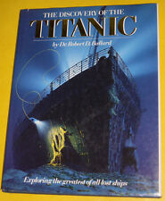 The Discovery of the Titanic 1987 Robert D. Ballard Large Pictorial Book Pics!