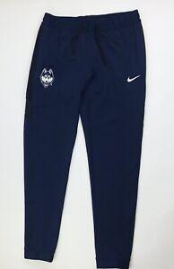 Nike UCONN Huskies Thermaflex Showtime Basketball Pants Women's M CQ5359 Navy