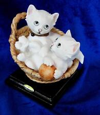 G. Armani #673C Kittens In The Basket Brand New In Box Save$ Rare Free Shipping