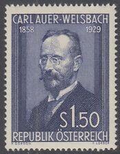 Österreich Austria 1954 ** Mi.1006 Welsbach Chemiker Chemist