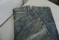 Diesel Herren Jeans Hose 33/32 W33 L32 stonewash acid blau #AB1
