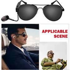 Wireless Bluetooth SunGlasses Headset Headphones Stereo Music MP3 Handfree Mic