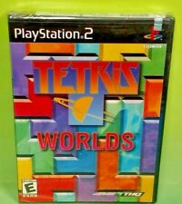 Tetris Worlds PlayStation 2 PS2 Brand New X Y Corner Factory Sealed Game Rare !