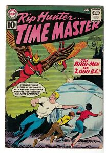 RIP HUNTER TIME DC Comics Silver age #4  VG 4.0 low GRADE