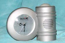 TALKING ANALOG & DIGITAL CLOCK (English Speaking)
