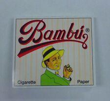 BAMBU SLOW BURNING CIGARETTE ROLLING PAPERS - 33 LEAVES PER PACK