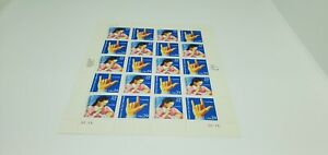 USA~AMERICAN SIGN LANGUAGE~DEAFNESS~FULL SHEET~POSTAGE STAMPS 29 CENT~MNH