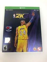 Brand New & Sealed NBA 2K21: Mamba Forever Edition for Xbox Series X Kobe Bryant