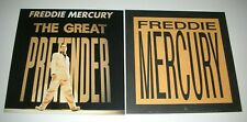 Freddie Mercury Great Pretender Queen 2 Sided Promo 12x12 Poster Flat 1992 Mint-