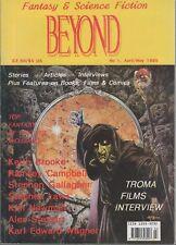 Beyond: Fantasy & Science Fiction Magazine No 1 April/May 1995 ed by David Riley