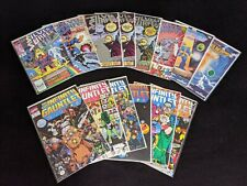 full run Infinity Gauntlet 1-6, complete Thanos Quest 1-2, Silver Surfer comics