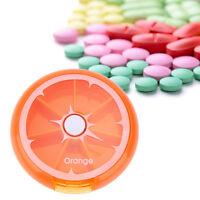 Weekly Daily Pill Box Organiser Medicine Tablet Storage Dispenser 7 Day Week SZ