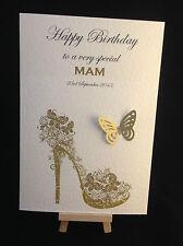Birthday Card Personalised & Hand Made Ladies, Womens, Girls