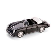 PORSCHE 356 C CABRIOLET 1963-65 NERO 1:43 Brumm Auto Stradali Die Cast