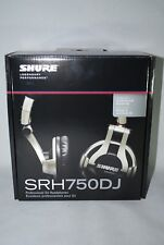 Shure SRH750DJ SRH 750 DJ Headphones NEW Authorized Dealer Box 40 Ohm